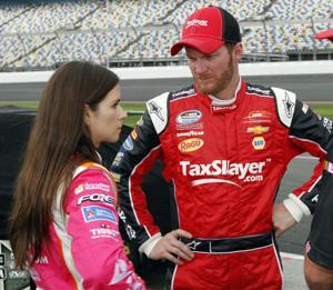 Dale Earnhardt Jr, Danica Patrick