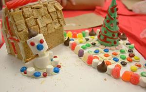 Gingerbread House Blueprint