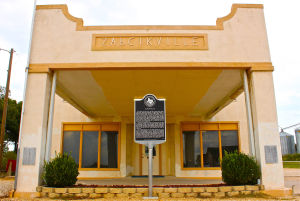 Zabcikville: Built in 1932 by Frank Zabcik, the old store and historical marker are the major landmarks in the Bell County community of Zabcikville. - Steve Pettit | Herald