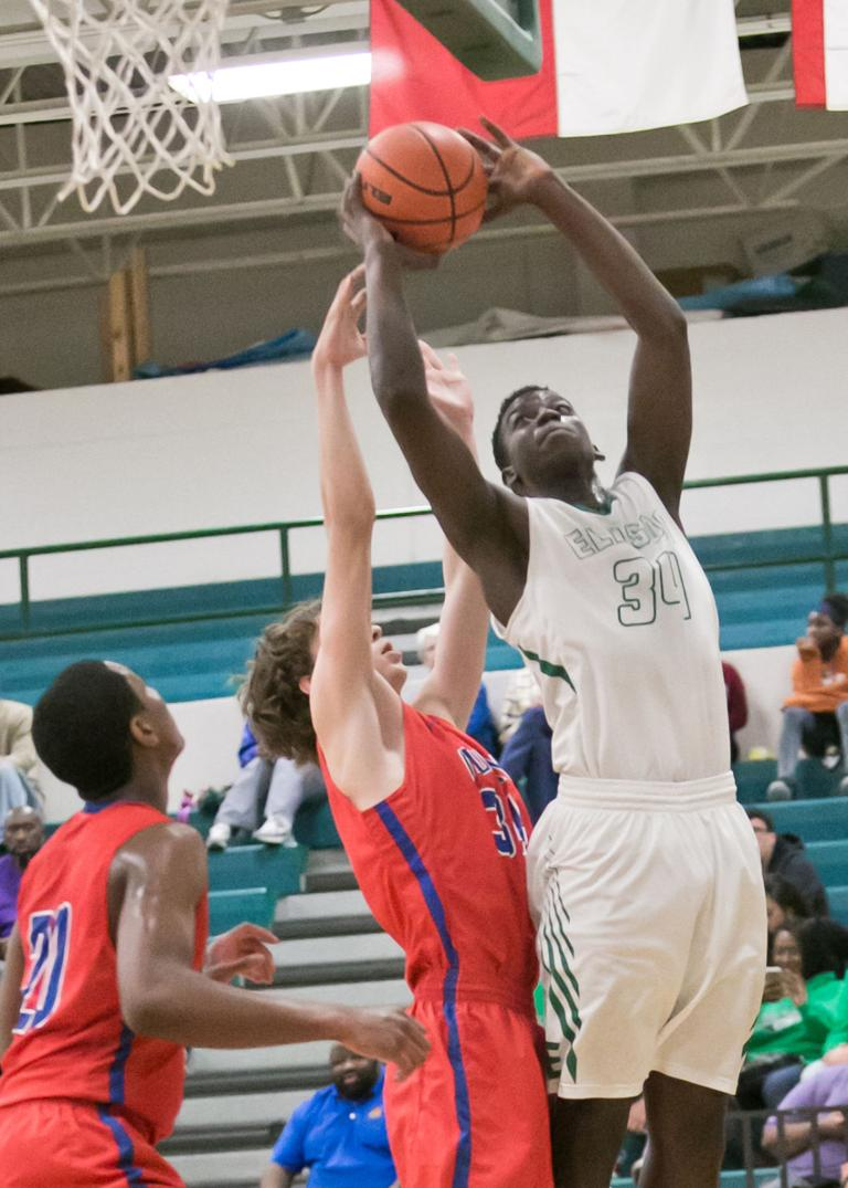 8-6A BOYS BASKETBALL: Ellison posts lead Eagles to 55-42 win over No. 23 Midway