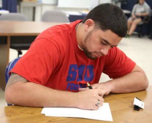 Copperas Cove Football Player Signing