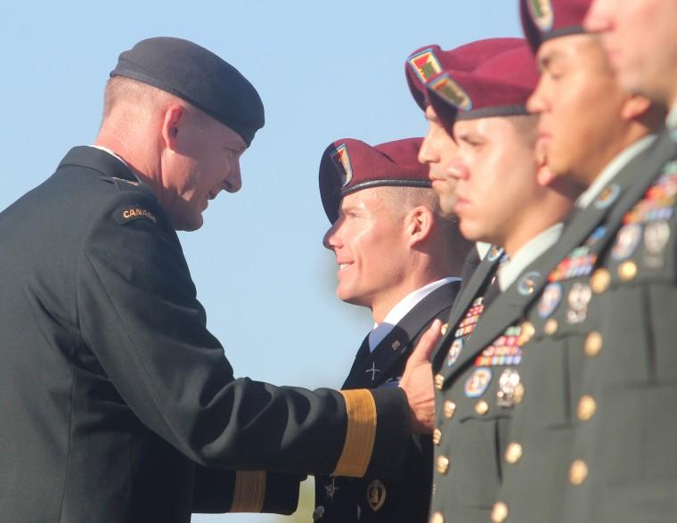 504th Battlefield Surveillance Brigade Award Ceremony