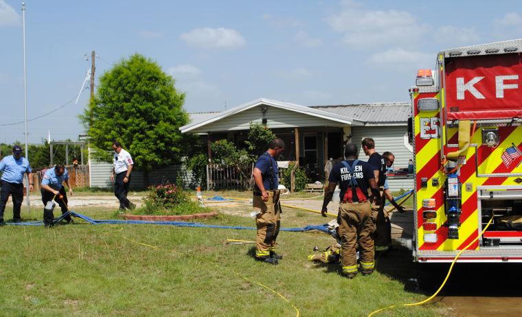 Fire in Killeen home