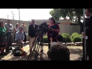 Mother of Spc. Jason Hunt speaks
