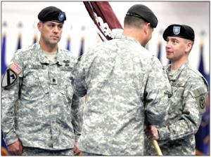 Greene replaces retiring Salter at Warrior Transition Brigade