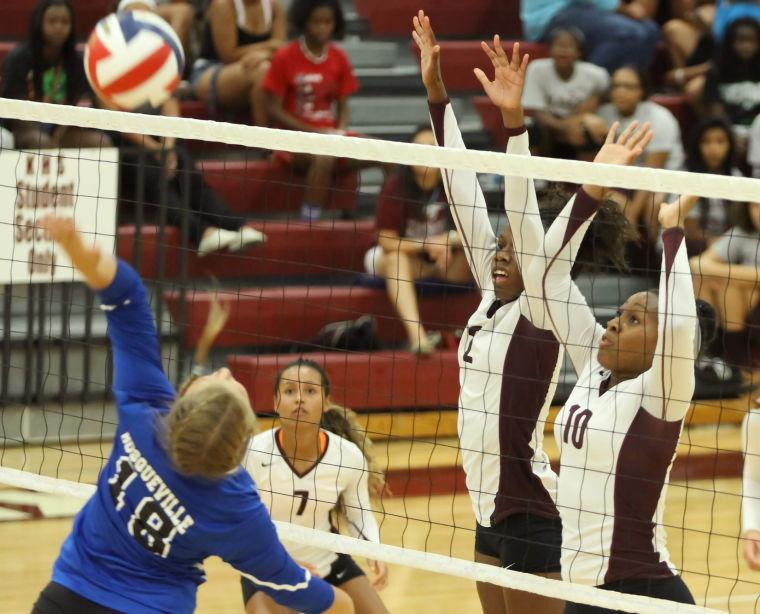 Killeen volleyball sweeps Bosqueville