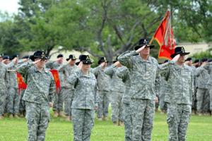 FHH 3BCT Command Change Ceremony