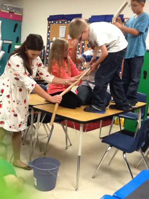 Williams/Ledger Elementary students ensure force is with them