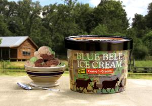 New flavor from Blue Bell inspired by camouflage trend