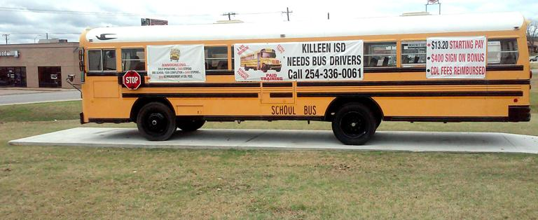Bus driver shortage affects 3 local school districts