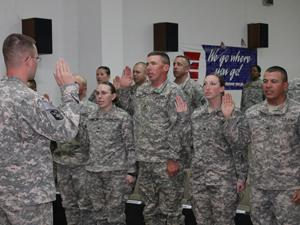 553rd CSSB hosts NCO induction event