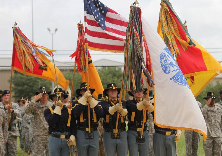 1st Cavalry Division Colors-Casing Ceremony