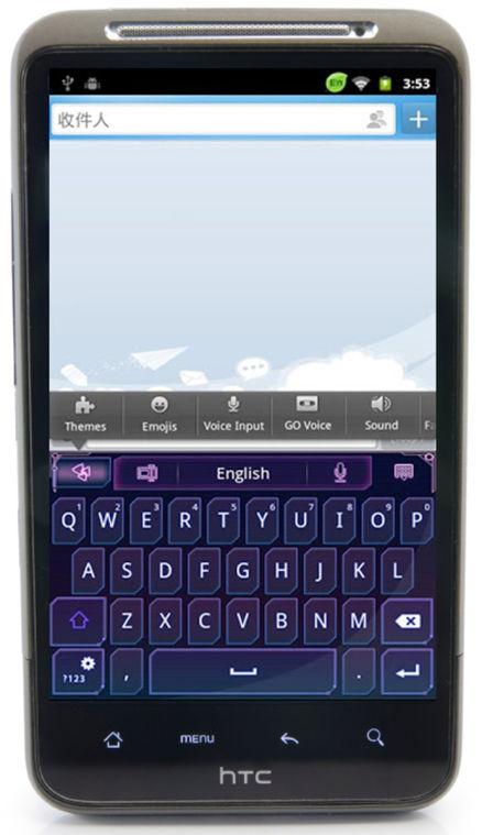 Go Keyboard app