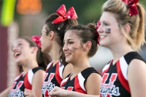 Harker Heights High School Cheerleaders