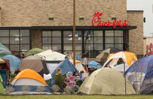 Chick-fil-A Camping