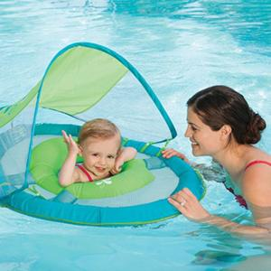 When it's time to get wet, use this gear to keep baby safe