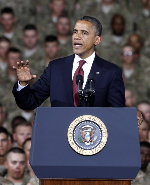 President Obama stops at Fort Bliss