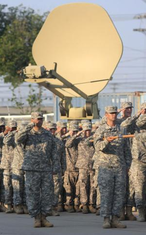62nd Expeditionary Signal Battalion Color Casing Ceremony
