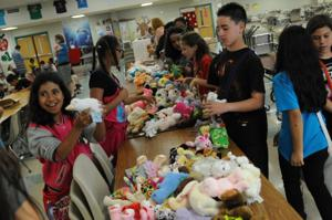 Students donate toys