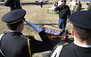 Cove JROTC flag burning