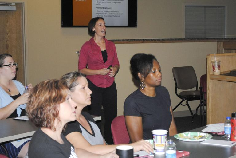 Small-business owners learn better communication skills at EDC workshop