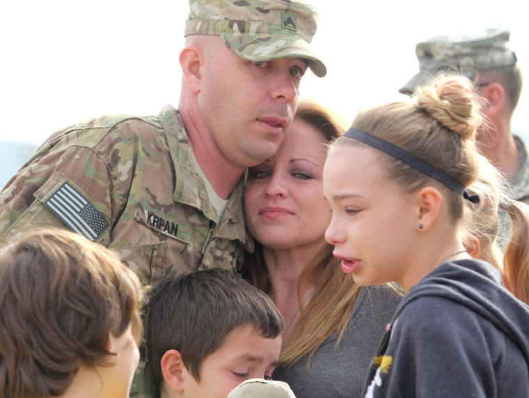 96th Transportation Company Deployment