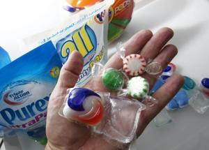 Safety standards for laundry detergent packets