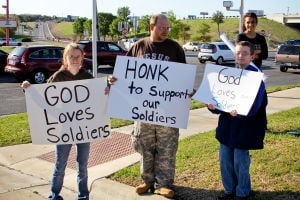 Support for soldiers