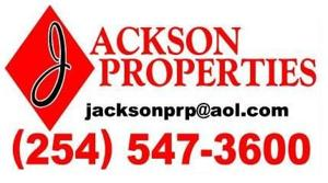 Real Estate Broker Harker Heights, TX 254-547-3600 Jackson Properties
