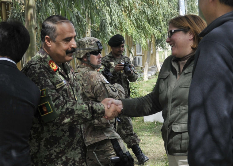 Military-civilian development experts discuss their Afghan counterpart capabilities
