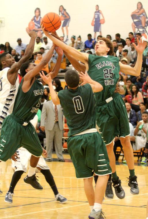 Shoemaker vs Ellison Boys Basketball