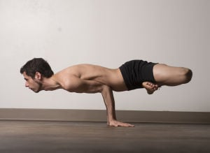 Yoga For Men: Adrian Hummell has been doing yoga for the past three years and now teaches Bikram yoga, a particularly strenuous form of the practice. - Marvin Joseph | Washington Post