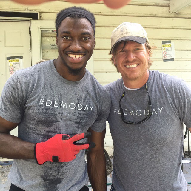 RG3 featured on HGTV's 'Fixer Upper'