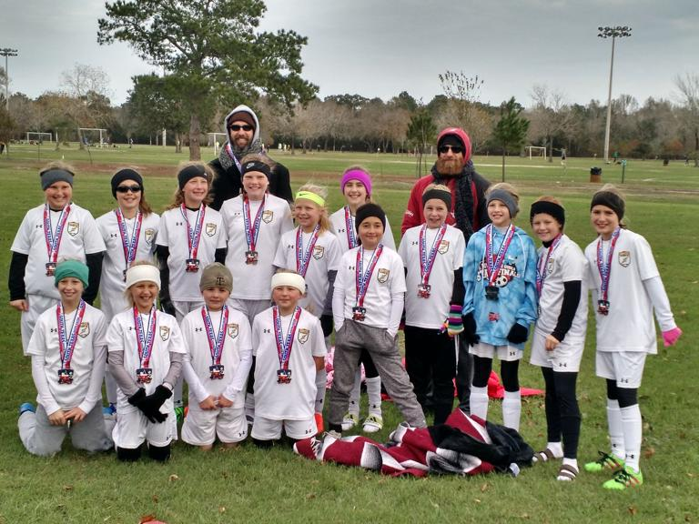SOCCER: 06 Centex Cyclones 11U soccer girls finish as state runner-up