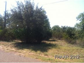 This property has creek (Salado) frontage.