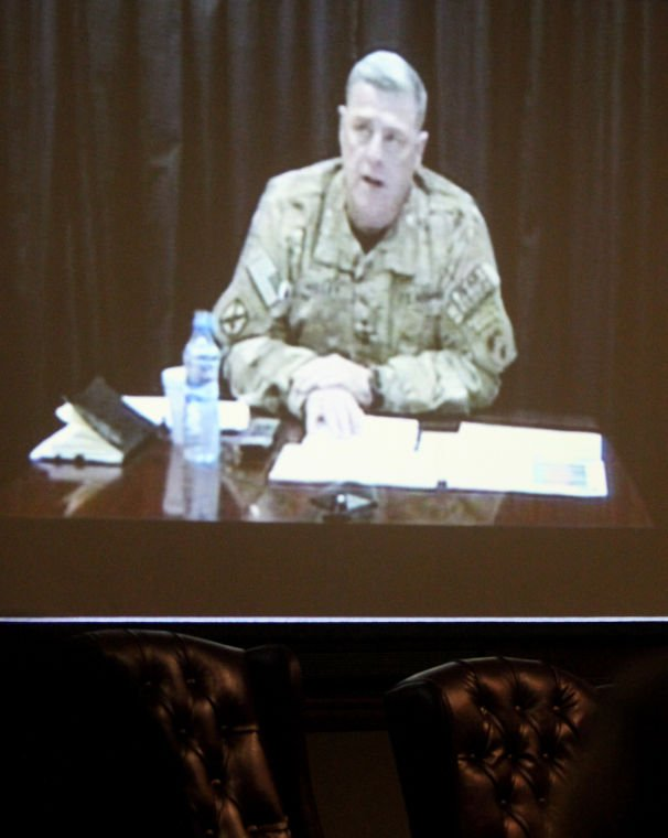 VTC with Lt. Gen. Mark Milley