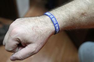 God Is Big Enough Bracelets
