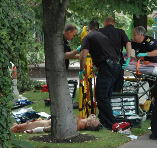 3 Charged In Brazen Downtown Kelowna Shooting