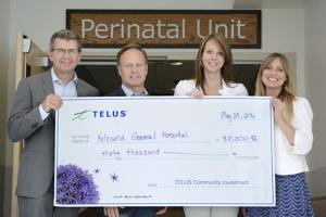 TELUS supports the KGH Foundation