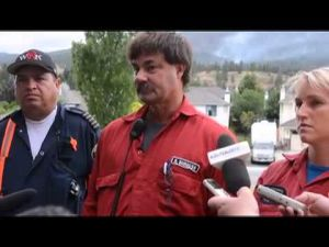 Smith Creek fire press conference