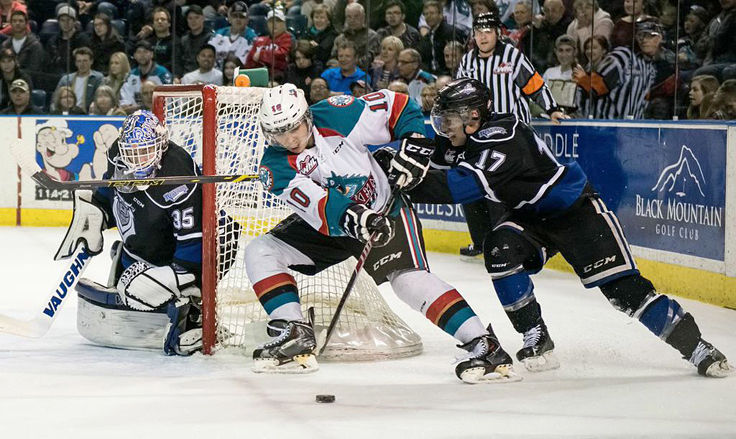 WHL: Rockets Score OT Victory Over Royals