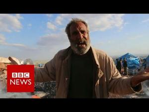 'Where is the world?': Air strike on refugees - BBC News