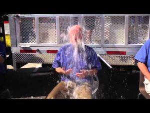 Kal Tire Soaks Their Management Team for ALS #IceBucketChallenge