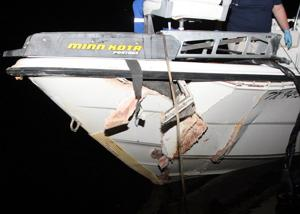 Boat accident in Texas