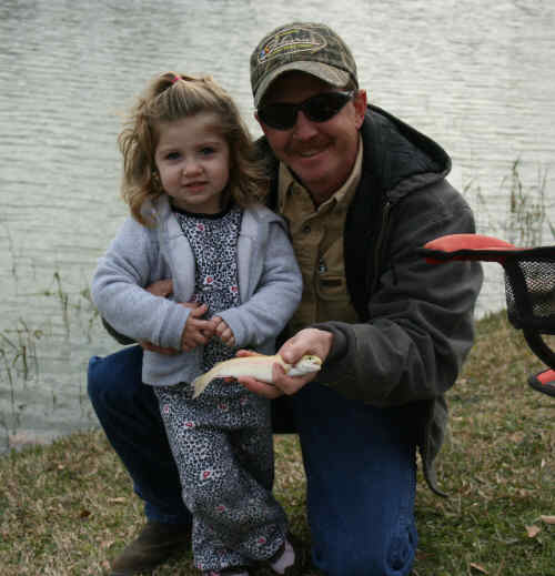 8th Annual Trout Derby had good fishing in mild weather