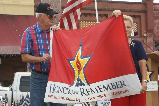 Memorial Day ceremony held on Saturday