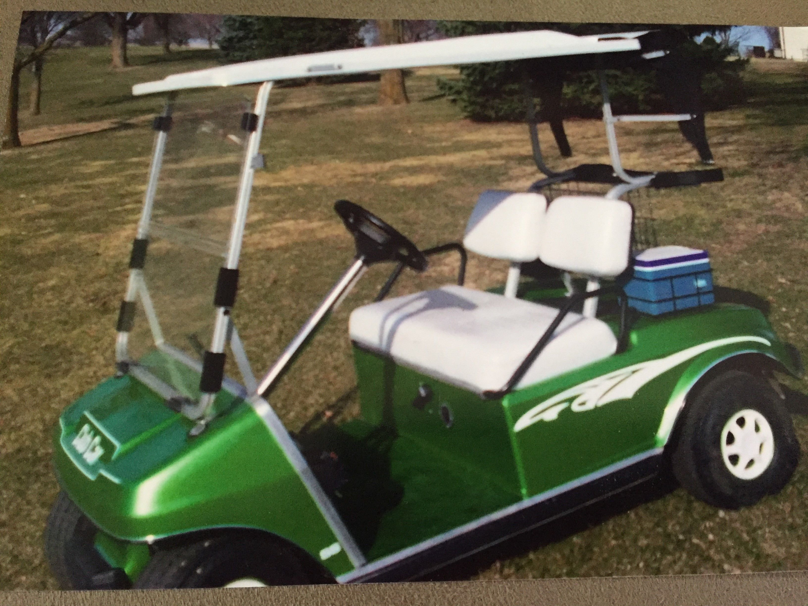 2 Electric Golf Carts for sale Lawn Garden Patio kmalandcom