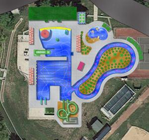 nebraska city pool project drawing