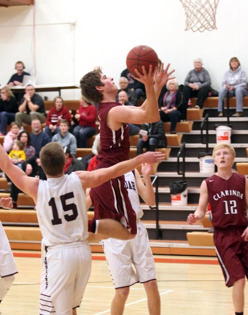 Clarinda vs. Shenandoah Boys Tournament Basketball ...
