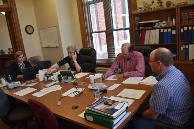 Page County board reviews 911 center lease
